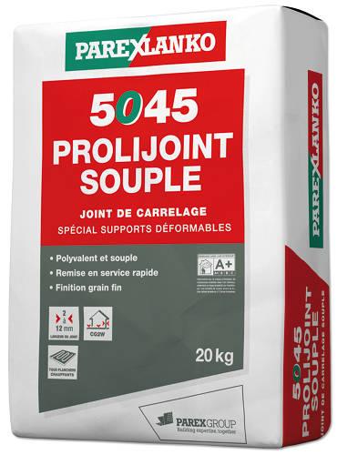 Joint carrelage 5045 prolijoint souple blanc sac 20 pcs