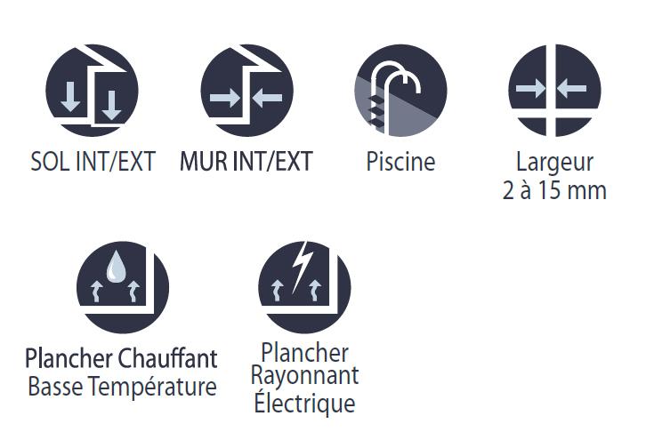 Joint souple Carrelage Joint De Carrelage souple Hydrofuge Terrasse sol Facade - Idees ...