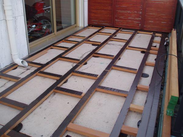 lambourde pour terrasse terrasse palette