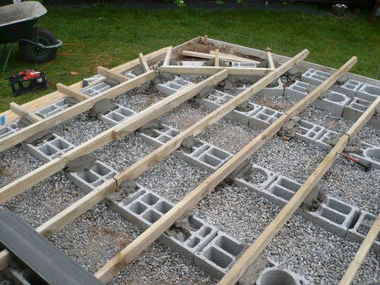 Terrasse bois sur lambourde Nos Conseils