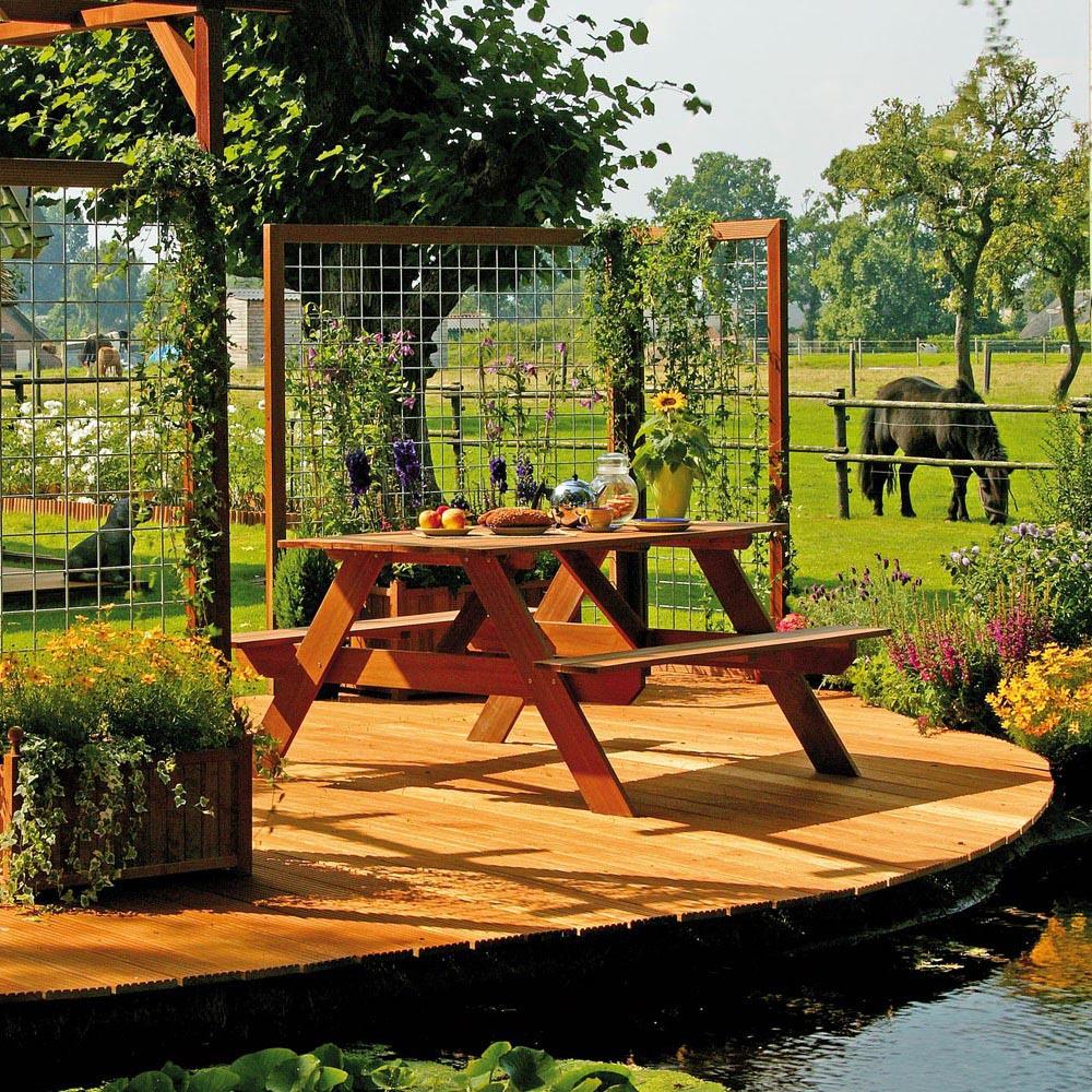 Lame Terrasse Bois Exotique 9 x 215