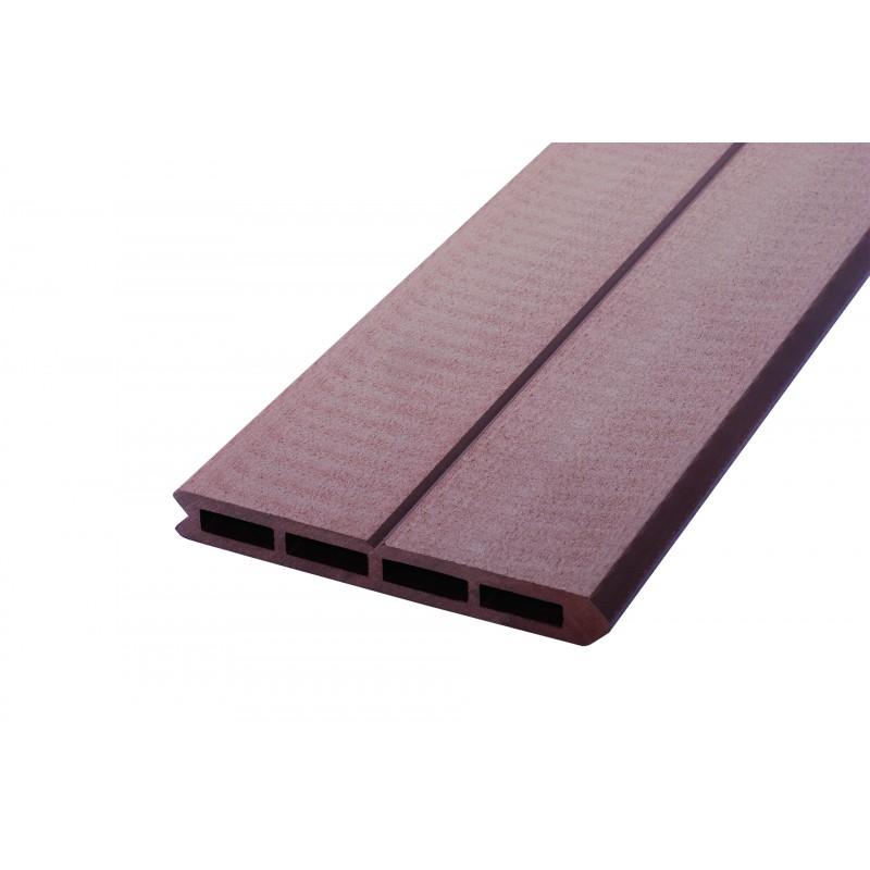 Lame de clôture bois posite L 148 cm l 15 6 cm E 19