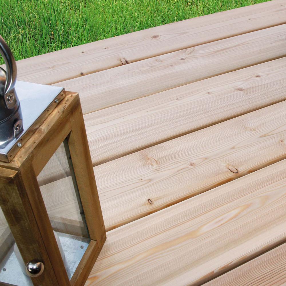 Lame de terrasse en Meleze de Siberie 28x145mm L=3m
