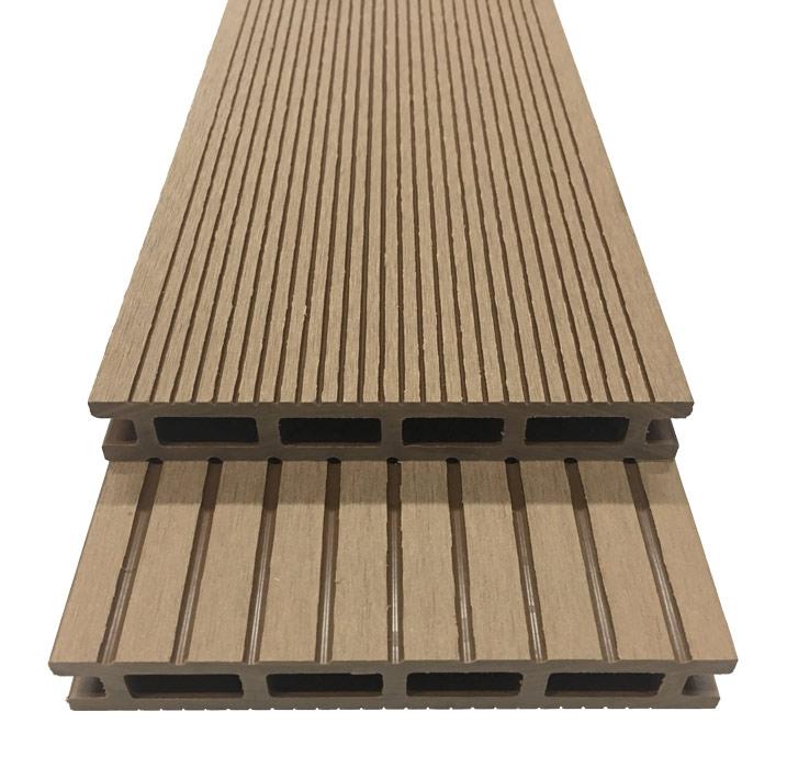 Lot de 3 lames de terrasse posite L 195 x l 14 6 cm