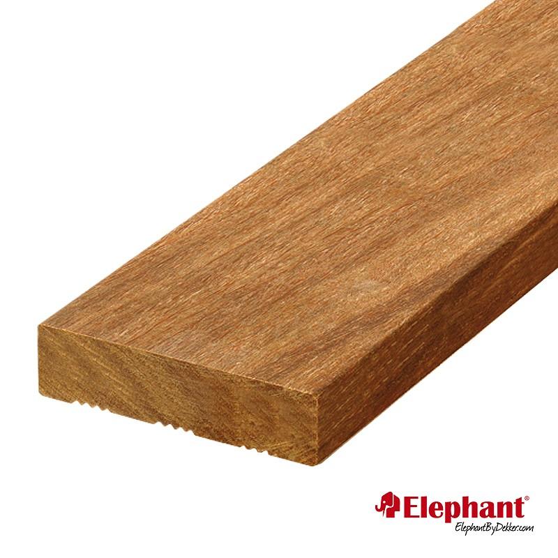 Lame de terrasse en bois exotique angelyn 215 x 12 x 1 9 cm