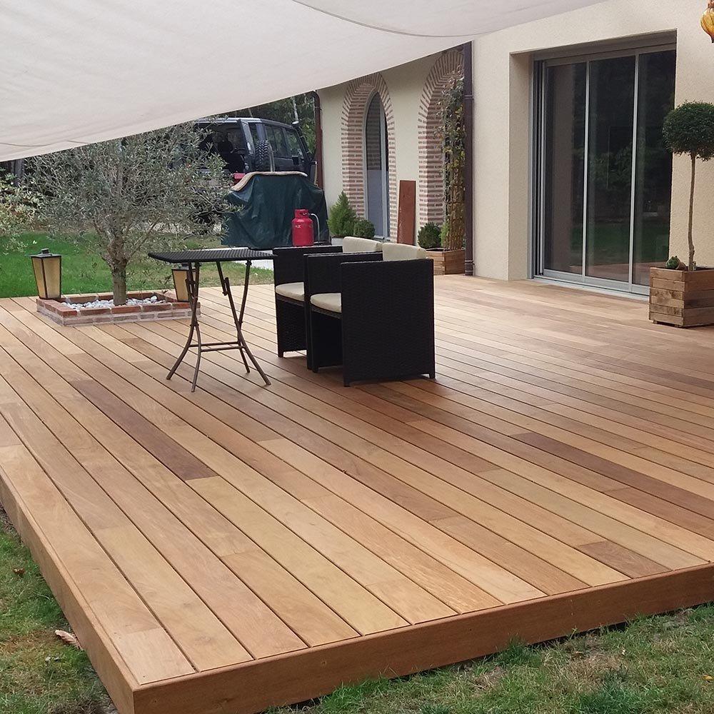 Lame Bois Exotique BALI Terrasse en Bois Exotique Deck