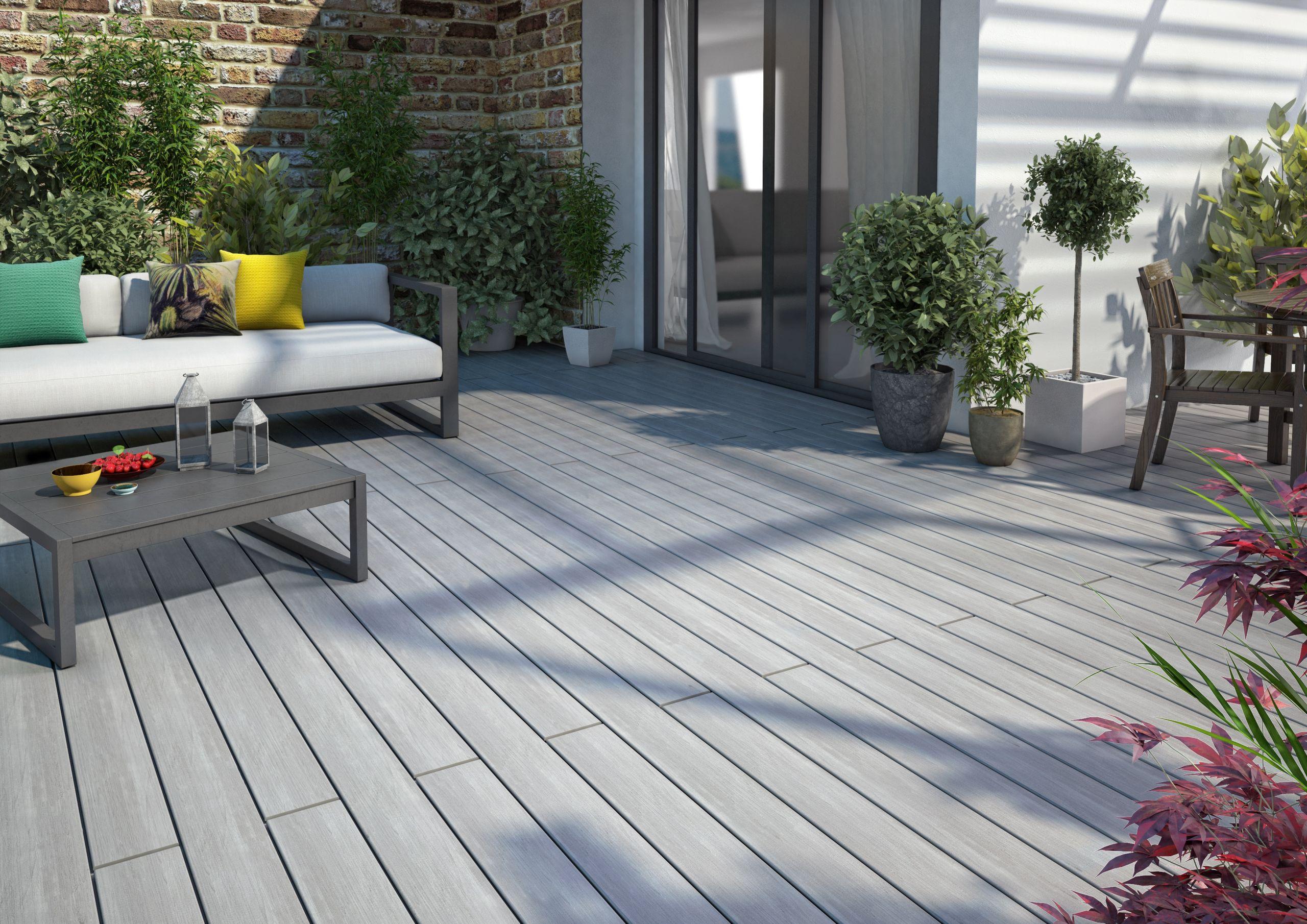 Lame en bois posite pour une terrasse Atmosphère