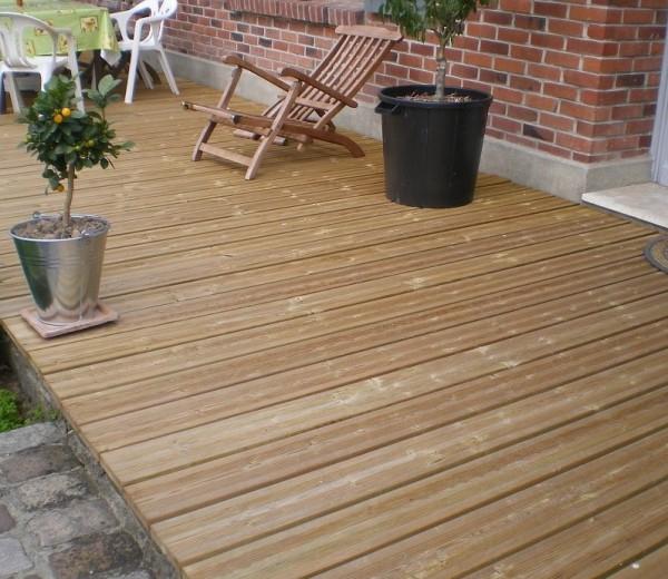 terrasse bois Pour Bricoler Malin 39