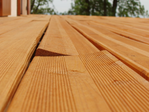 Terrasse bois pourrie