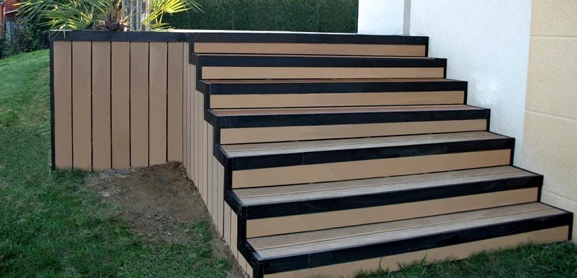 12 idées d escaliers en lames posites Partie 2