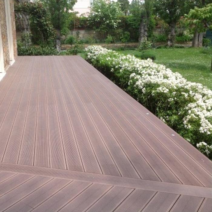 Lame de terrasse posite MARRON CHOCOLAT gamme classique