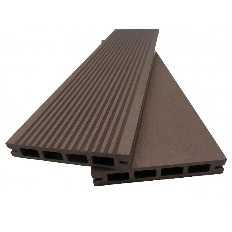 Lame terrasse bois posite alvéolaire Prima L 220 cm