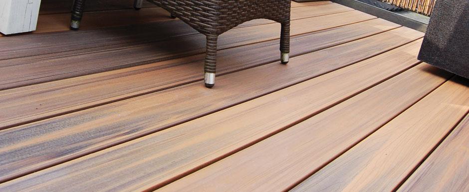 Terrasse bois lame posite