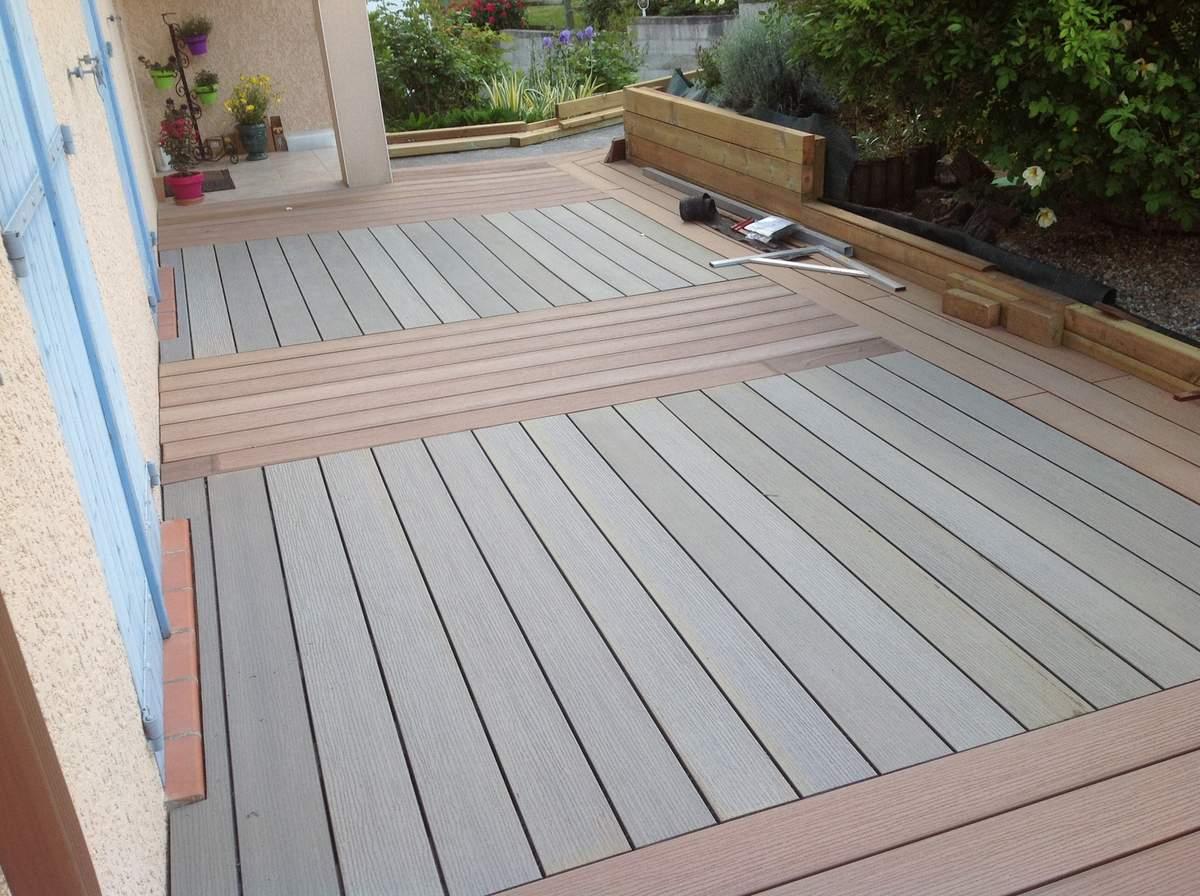 Terrasse en bois dans quel sens poser les lames veranda