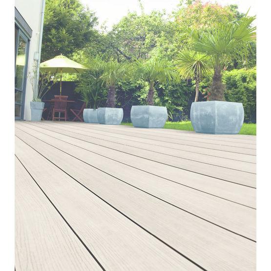 Lame de terrasse posite avec surface en PVC