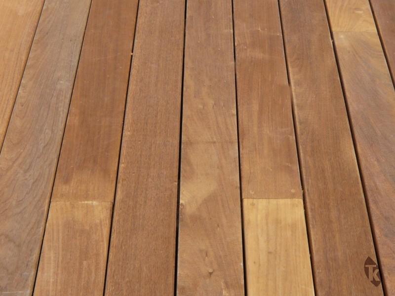 Lames de terrasse en bois exotique Ipé petites longueurs