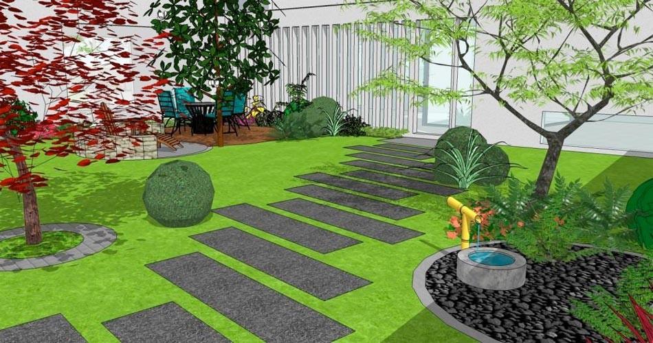 amenagement jardin paysager logiciel gratuit le