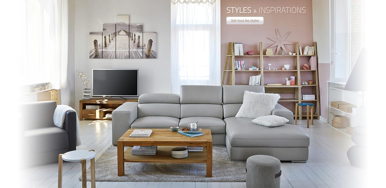 Magasins BUT achat meubles canapé lit matelas table