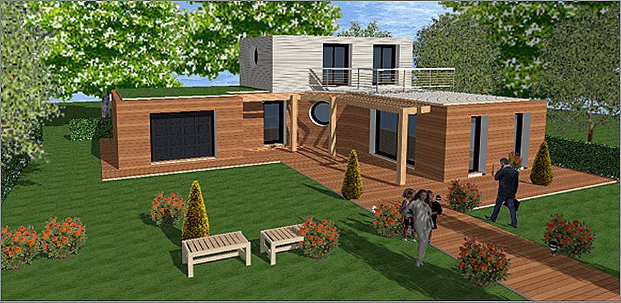 Maison Bois Toit Plat 68 Maison Contemporaine Bois Toit Plat Idees Conception Jardin Idees Conception Jardin