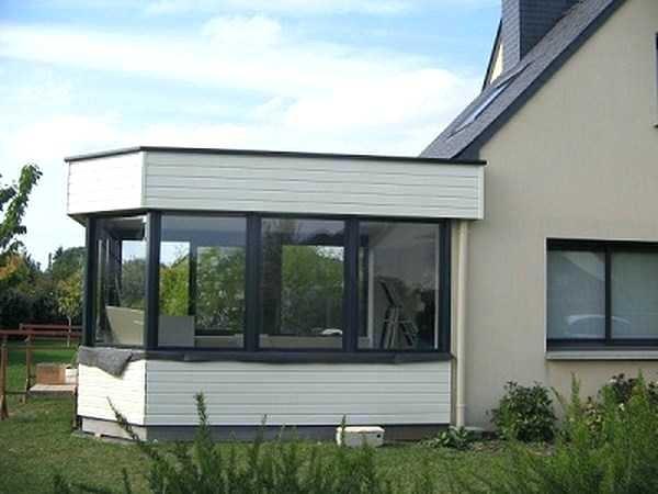 Maison toit Plat Prix Agrandissement Maison toit Plat Extension 5 Veranda Prix 8 - Idees ...