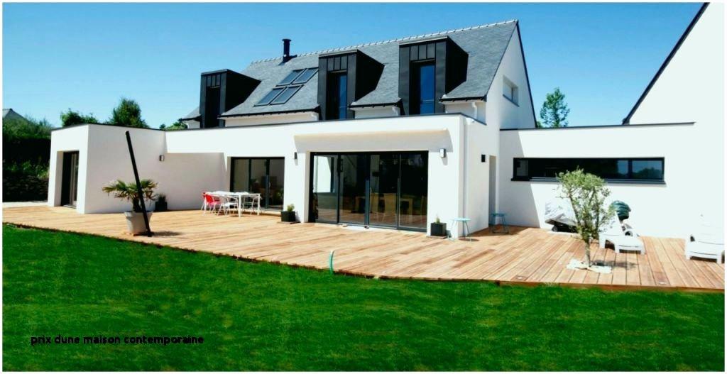 Maison toit Plat Prix Prix Maison Contemporaine toit Plat De Extension