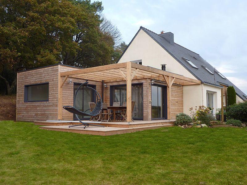 Maison toit Plat Terrasse Schème
