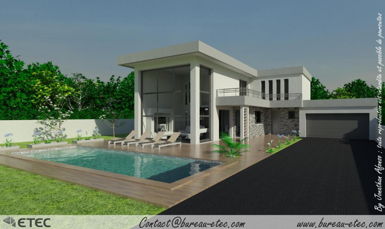 Maison toit Terrasse Les Entreprises Virtuelles