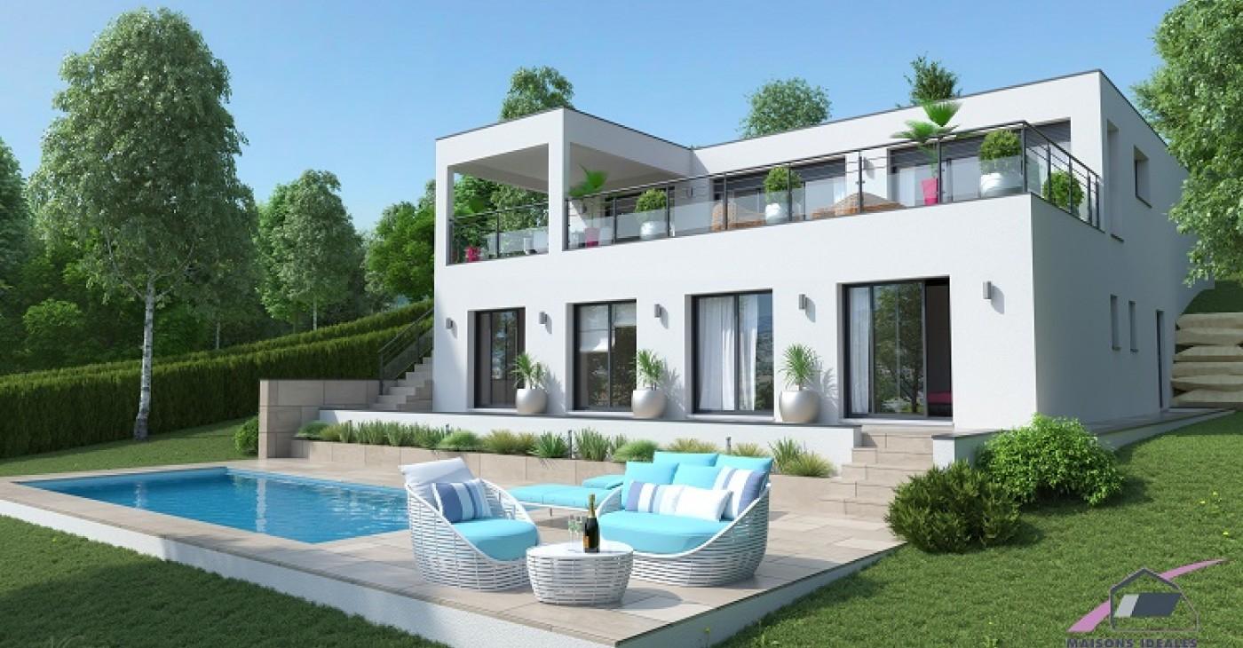 Maison Avec Toit Terrasse VR28