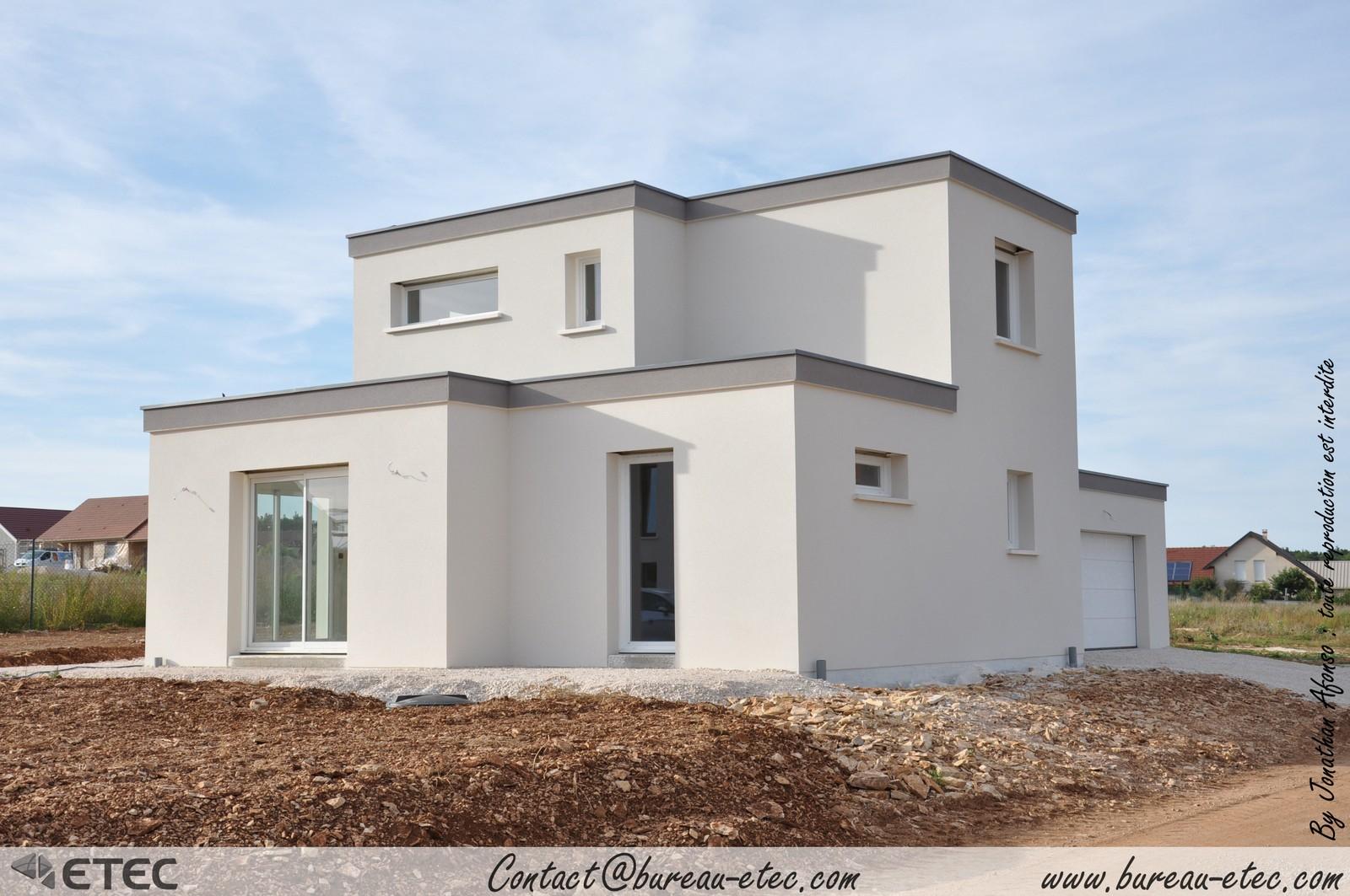 Maison Toit Terrasse Hauteville 1
