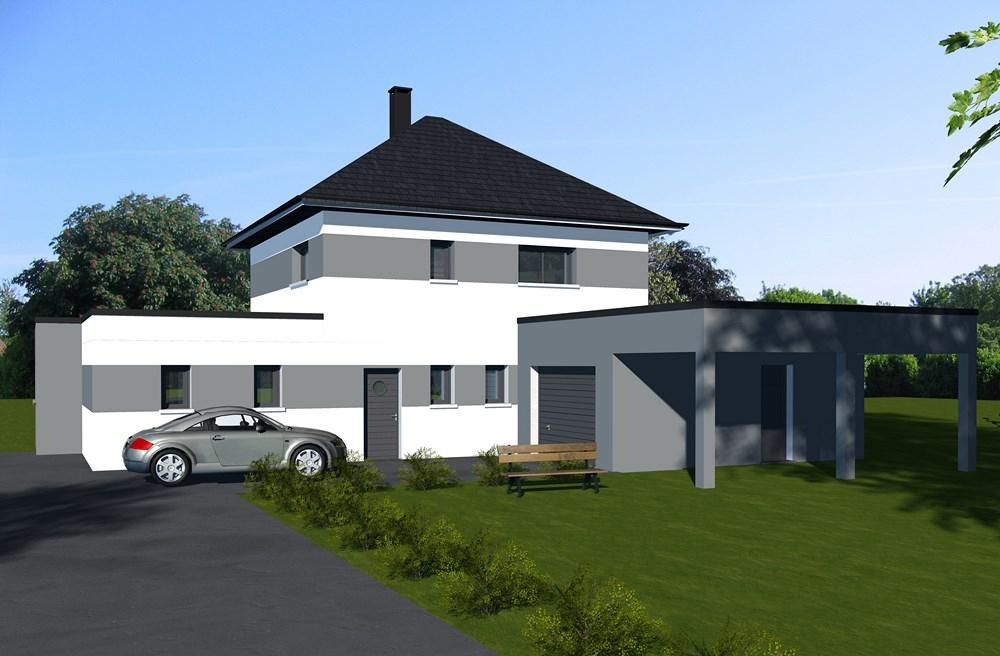 Maison toit Terrasse Maisons toiture Terrasses Constructeur De Maisons Sur