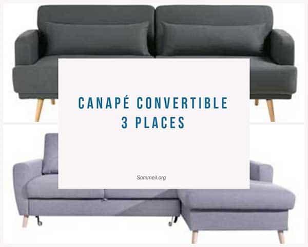 Meilleurs Canapés Convertibles top 5 Meilleurs Canapés Convertibles 3 Places Paratif