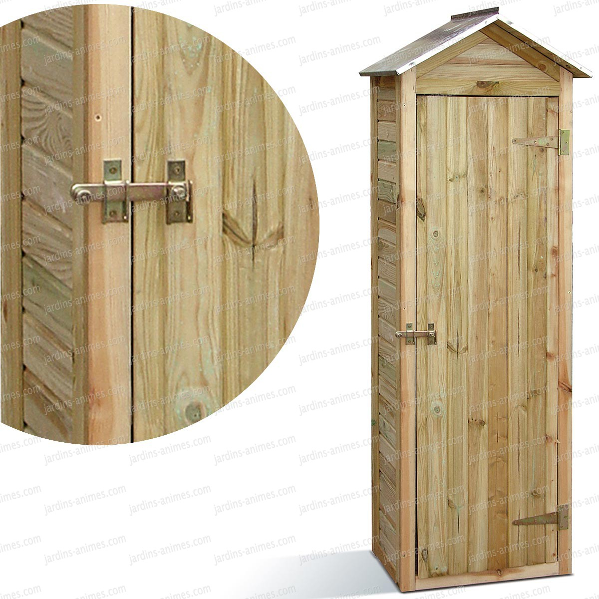 Nettoyage Armoire En Bois meuble de jardin en bois meubles rangement jardin bois