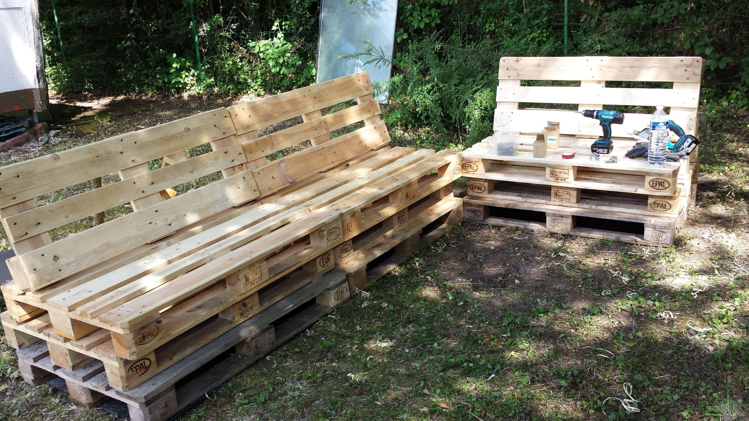 Meuble De Jardin En Bois Mobilier De Jardin En Palette