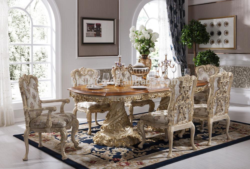 Italien Français Rococo De Luxe Mobilier De Chambre dubaï