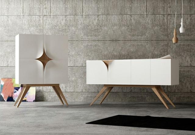 Le mobilier design italien nous livre la Slap collection
