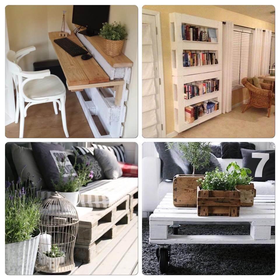 Créer des meubles avec des palettes en bois