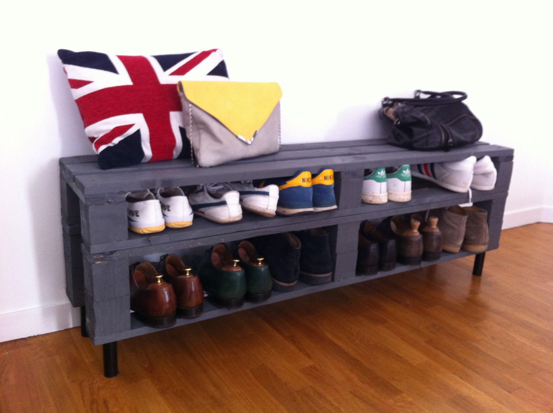 Exemples de meubles en palettes de bois Relooker un