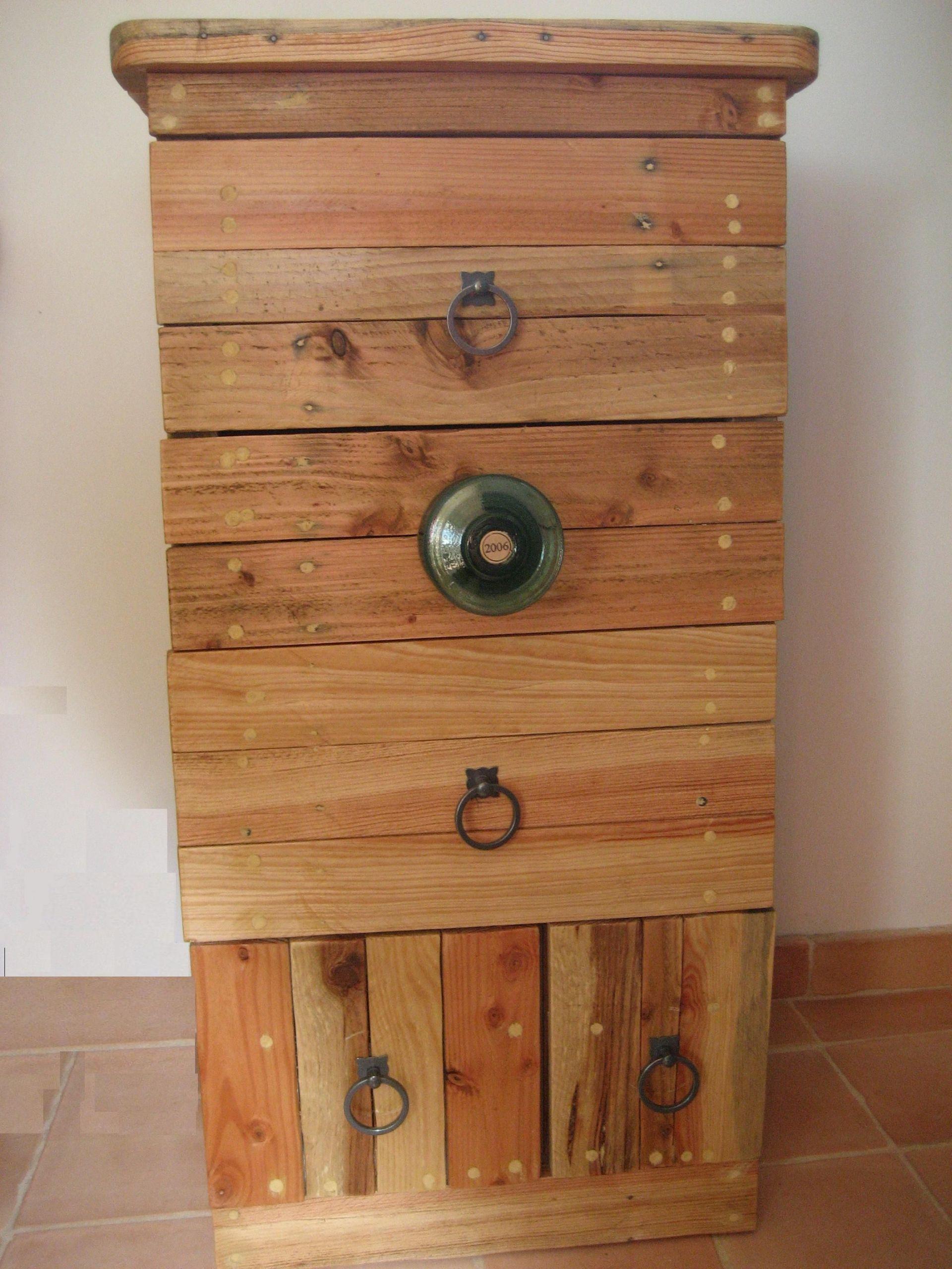 Mobilier table Meubles en palettes de récupération