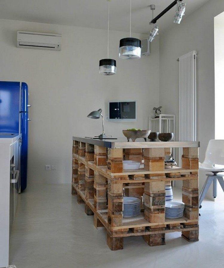 Faire des meubles avec des palettes en bois pour l
