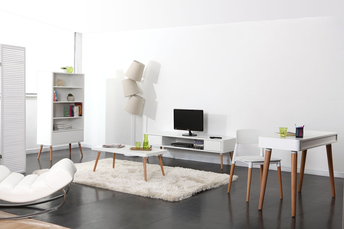 Meuble sejour style scandinave Boutique gain de place