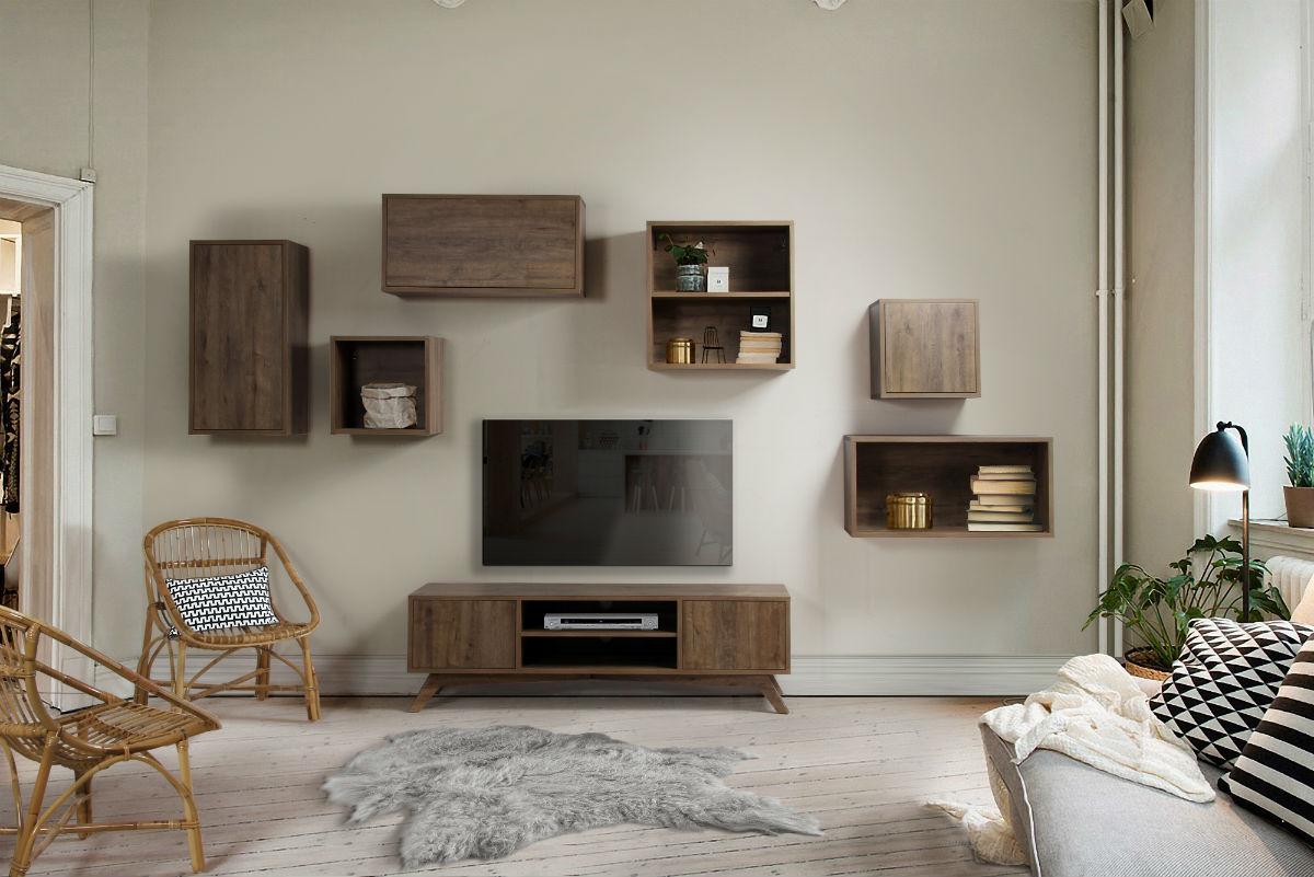 Meuble TV design scandinave Brin d Ouest