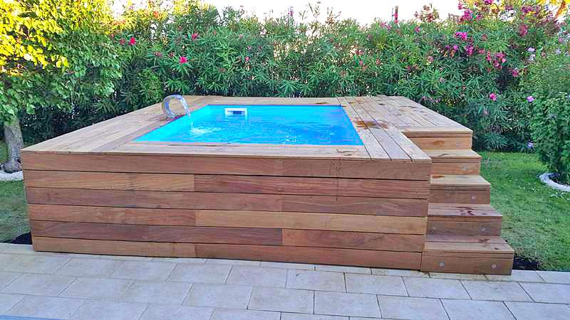 Construction installation d aménagement de mini piscine