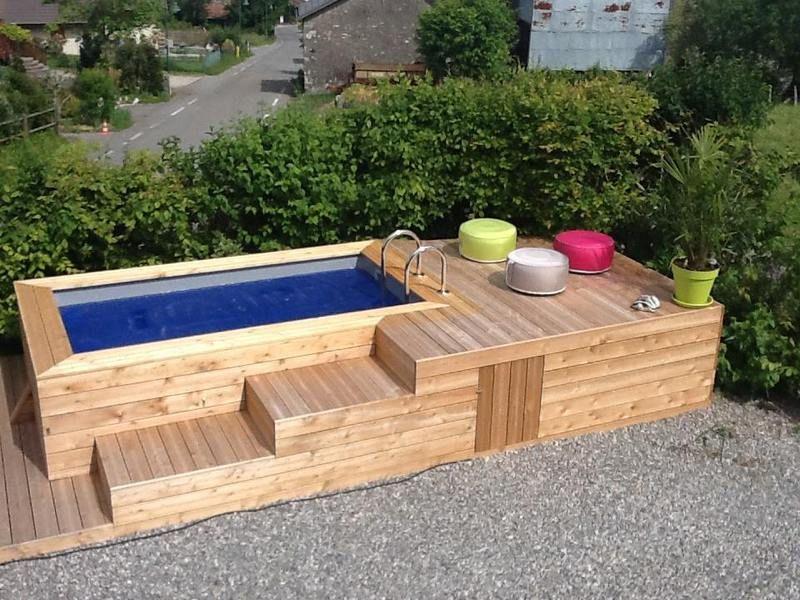 Découvrez les mini piscines en bois Vercors Piscine