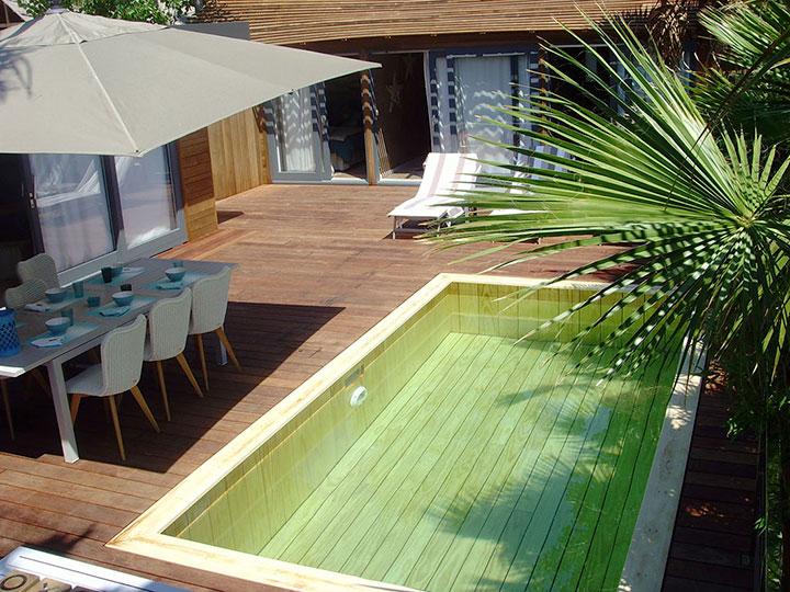 Installateur mini piscine en bois Var Toulon Nice Marseille