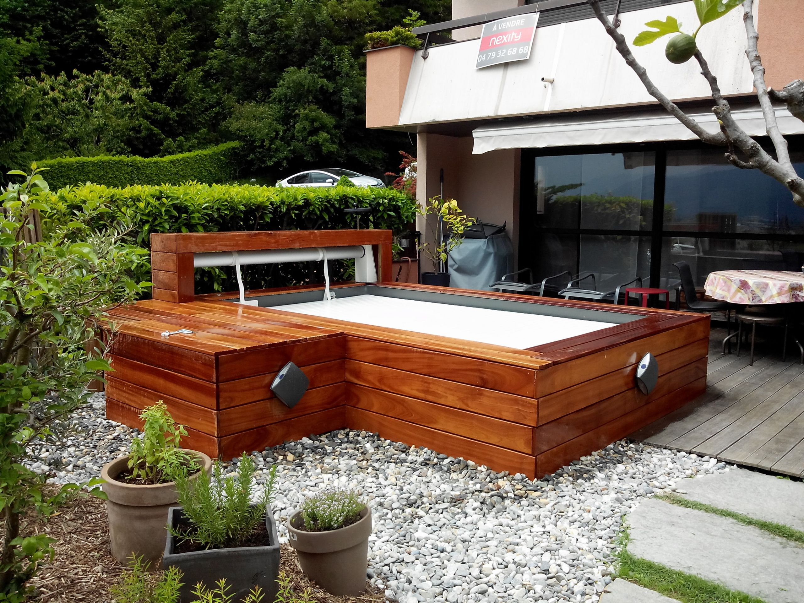 Mini Piscine Petit Jardin mini piscine bois mini piscine l univers de la petite