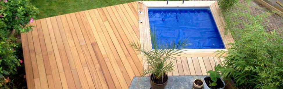 Vercors Piscine Piscine mini piscine et terrasse en bois