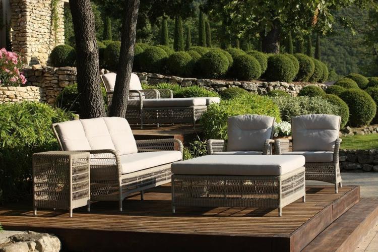 Mobilier de jardin lounge en 25 photos fascinantes