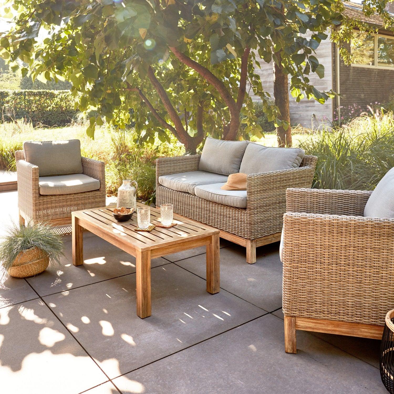 Un salon de jardin design et élégant