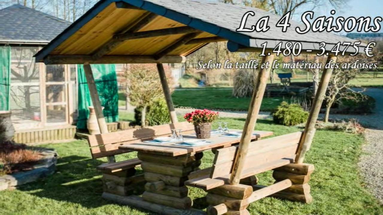 Huet Bois producteur de mobilier de jardin Local