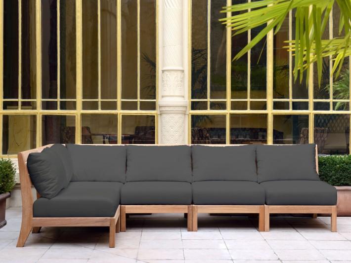 Mobilier de jardin design Tectona Canapé jardin bois